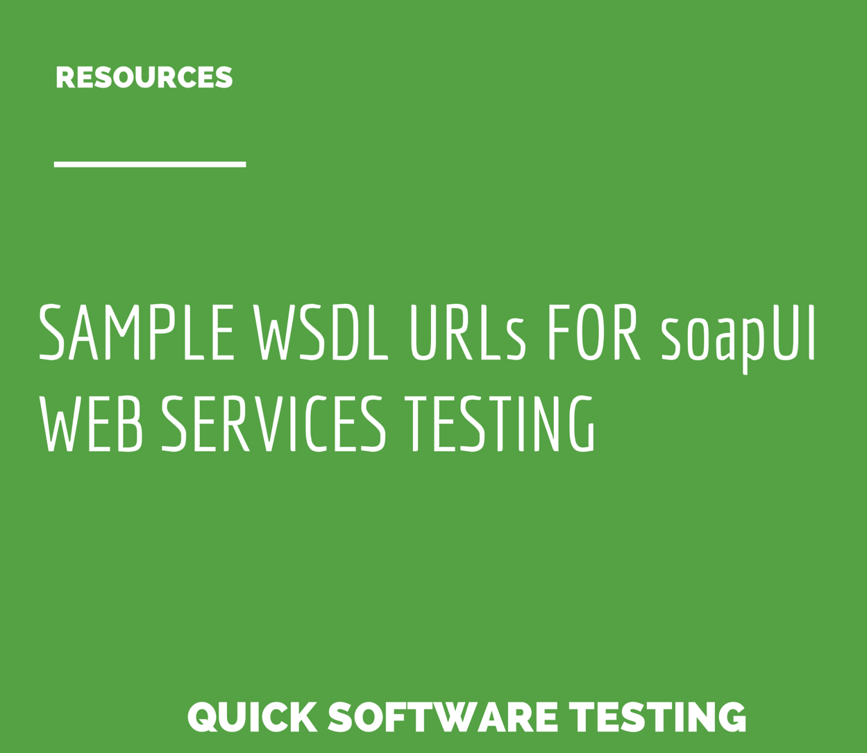 sle wsdl urls for soapui web services testing